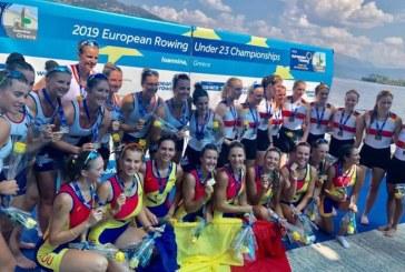 Canotaj: Romania a cucerit 9 medalii de aur la Campionatele Europene Under 23 din Grecia