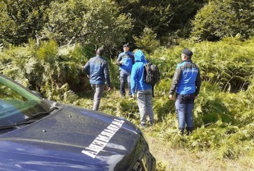 Actiune de cautare si salvare a jandarmilor in cazul a doua persoane ratacite in Cavnic: