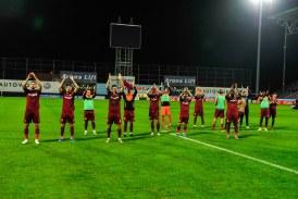 Fotbal: CFR Cluj reuseste o victorie splendida in Europa League, 2-1 cu Lazio