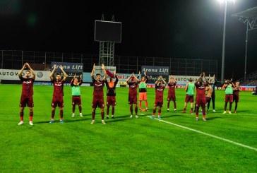 Fotbal: CFR Cluj o invinge dramatic pe Rennes, cu 1-0, in Europa League