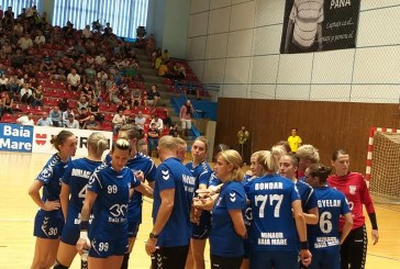 Echipa feminina de handbal a CS Minaur joaca vineri la Kisvarda