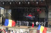 "Dumitru Dobrican, Florin Gherman si Silvia Timis au fost prezenti la ""Festivalul Cultural al Romanilor de Pretutindeni"" din Straseni"