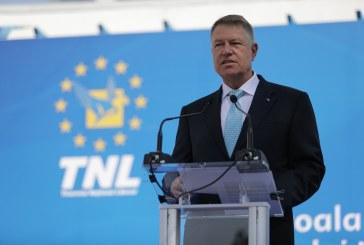 Klaus Iohannis: PNL va fi motorul proiectului Romania Normala