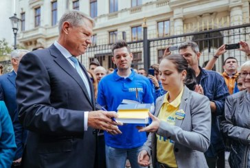 Klaus Iohannis, la depunerea candidaturii: STIU ce trebuie facut si impreuna cu un guvern pro european, in jurul PNL-ului, vom face aceasta munca pentru romani!
