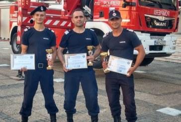 Pompierii maramureseni s-au clasat pe locuri fruntase la cea de-a VII-a editie a concursului international scari