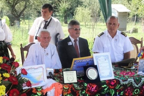 Veteran de razboi din Maramures, sarbatorit la 100 de ani (FOTO)