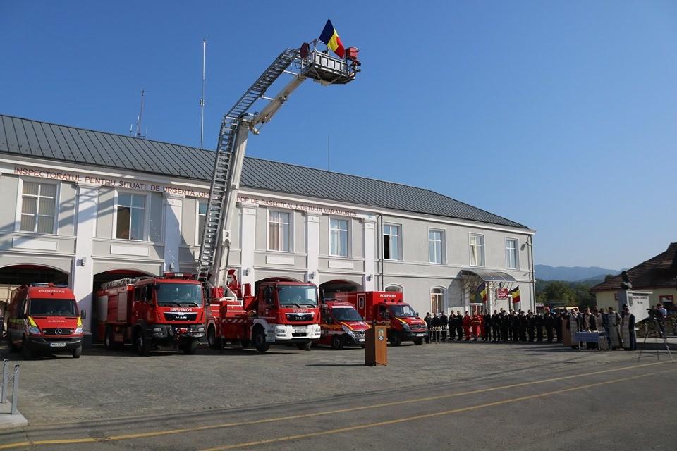 Ziua Pompierilor din Romania, sarbatorita si in Baia Mare (FOTO)