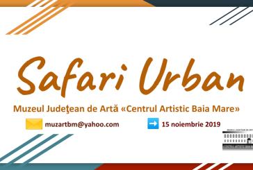 Foto Safari Urban, proiectul expozitional – participativ lansat de  Muzeul Judetean de Arta «Centrul Artistic Baia Mare» continua pana la mijlocul lunii noiembrie!