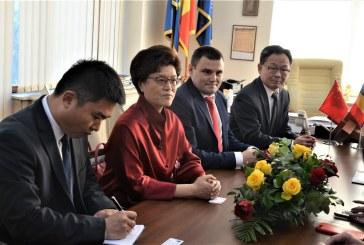 Ambasadorul Republicii Populare Chineze, vizita in Baia Mare. Afla ce a spus