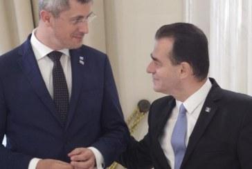 USR a decis sa sprijine PNL la guvernare. Ce contine Acordul politic USR-PNL negociat de Barna si Orban: 16 masuri prioritare pentru Guvern