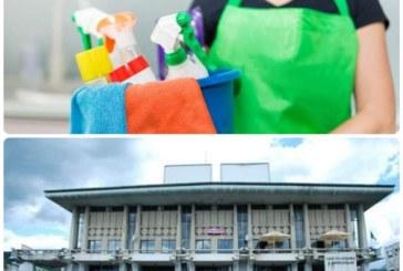 Reprezentantii Casei de Cultura s-au apucat de curatenie. Inspectorii DSP Maramures au verificat astazi si chiriasii