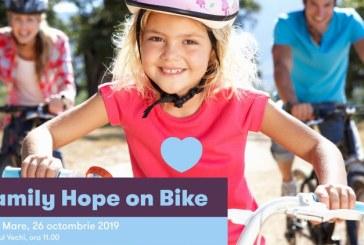 Baia Mare: Family Hope on Bike 2019-cu bicicleta prin oras, sambata, de la ora 11.00. Vezi aici, traseul