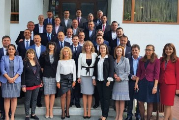 Prefectul Vasile Moldovan a participat la o intalnire de lucru cu reprezentantii Ministerului Afacerilor Interne si Autoritatii Electorale Permanente