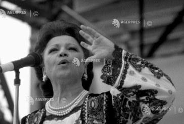 Imagine din arhiva AGERPRES: Maria Ciobanu in concert