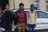 Trei cetateni din Sri Lanka opriti din drumul ilegal spre Spatiul Schengen