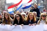 Manifestatii feministe in Croatia in urma unui caz de viol