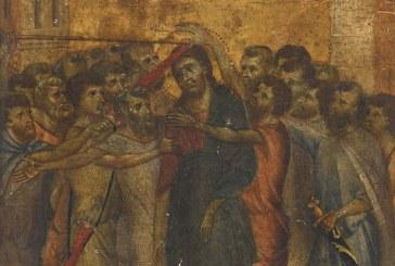 Un tablou extrem de rar a fost vandut cu 24 de milioane de euro. Tabloul este semnat de pictorul Italian Cimabue