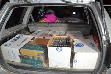 Doi cetateni romani cercetati pentru contrabanda si 4.000 pachete tigari confiscate, in Maramures