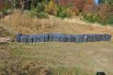 Urmariri in trafic, focuri de arma si peste 26.600 pachete cu tigari de contrabanda confiscate