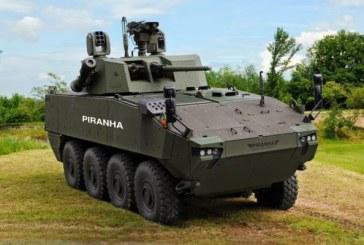 Ministrul Apararii Nationale: 36 de vehicule blindate Piranha 5 vor fi livrate pana la sfarsitul lunii februarie