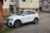 Audi Q3 cautat de autoritatile din Italia, descoperit in Borsa