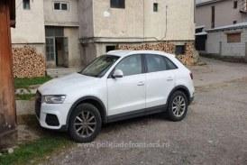 Audi Q3 cautat de autoritatile din Italia, descoperit in Borsa