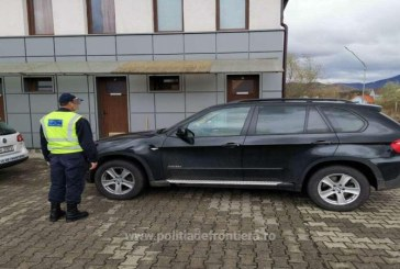 BMW X5 cautat in Germania, oprit in localitatea Vama