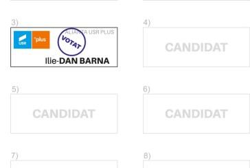 VOTEAZA pozitia a treia pe buletinul de vot!