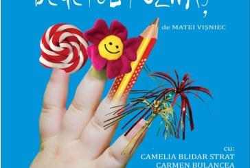 """Teatru: """"Degetul poznas – spectacol pentru copii cu varsta intre 3 si 5 ani"""", proiect realizat de Asociatia Culturala """"Atelier `92"""""""