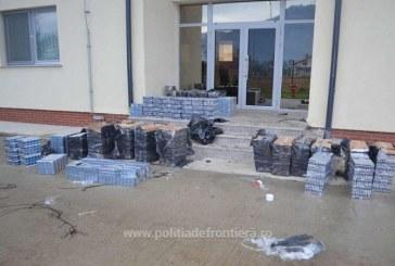 Contrabanda la frontiera. Politistii de la ITPF Sighetu Marmatiei au capturat 25.000 pachete cu tigari de provenienta ucraineana