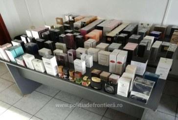 Maramuresean prins in vama Petea cu 173 de parfumuri susceptibile a fi contrafacute