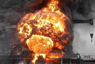 Trei morti in explozia unui vas-cisterna rus care nu avea la bord incarcatura