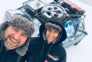Doi satmareni pornesc in expeditie spre polul frigului din Siberia, cu o singura masina