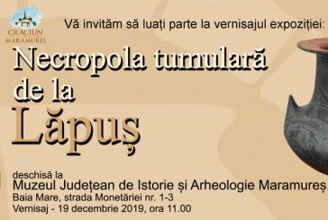 "Expozitia temporara ""Necropola tumulara de la Lapus"", la Muzeul Judetean de Istorie si Arheologie"