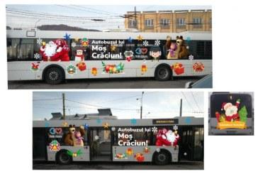 Baia Mare: Autobuzul lui Mos Craciun va circula in perioada 11-29 Decembrie. Afla pe ce traseu