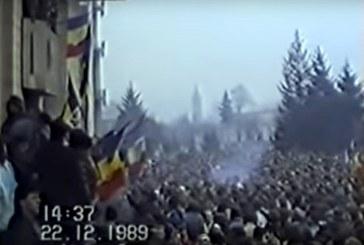 In urma cu 30 de ani: Baia Mare, la Revolutie. Imagini document (VIDEO)