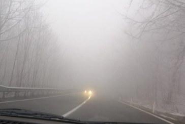 Info trafic: Vizibilitate redusa de ceata pe DN 18 in Pasul Gutai. Drumarii sunt pregatiti sa intervina daca va ninge