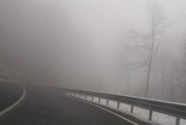 Info trafic: Ceata, sub 100 m, in Pasul Gutai, Dealul Huta-Certeze, Dealul Hera, Dealul Stefanitei si DN18 la Viseu de Sus