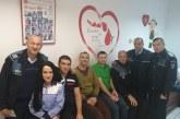 Baia Mare: Politistii au donat sange