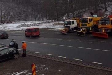 Info trafic: Circulatia rutiera se desfasoara in conditii de iarna in Maramures