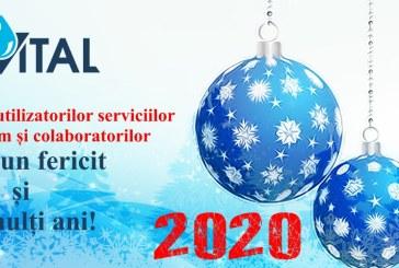 Programul S.C. VITAL S.A. in perioada Sarbatorilor de Iarna 2019-2020