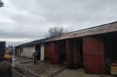 Incendiu la o hala de prelucare a lemnului din Baia Mare (FOTO)
