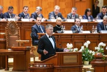 Iohannis: Preiau cu multa emotie al doilea mandat; voi fi presedintele tuturor romanilor