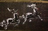 Birmingham: Autoritatile britanice au decis sa protejeze o lucrare murala de Banksy dup ace aceasta a fost vandalizata