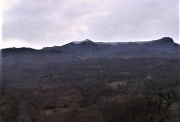 Meteo: -7 grade C la Targu Lapus. Stratul de zapada masoara 2 cm la Vf Iezer
