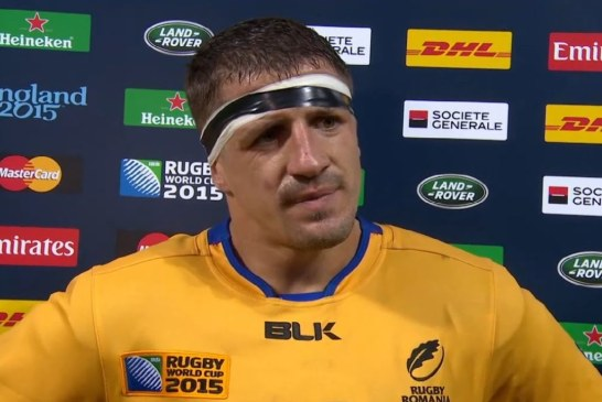 Rugby: Mihai Macovei si Ionel Melinte, cei mai buni jucatori romani ai anului