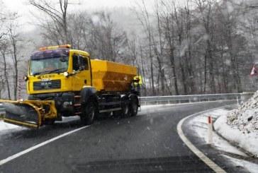 CJSU Maramures, masuri pentru asigurarea deszapezirii sectoarelor de drumuri publice si buna desfasurare a circulatiei rutiere