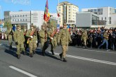 Fotografia zilei: Mii de baimareni au fost prezenti la parada militara de pe B-dul Unirii din Baia Mare-GALERIE