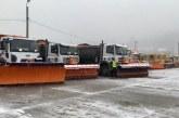 Baia Mare: 500 de tone de material antiderapant si peste 50 de utilaje pregatite pentru deszapezire