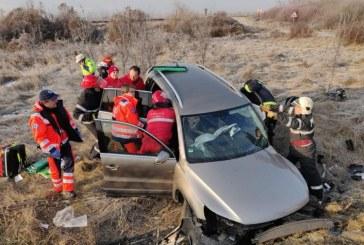 Salvator si in timpul liber. Un paramedic de la ISU Maramures a acordat primul ajutor victimelor unui accident de circulatie produs in judetul Cluj